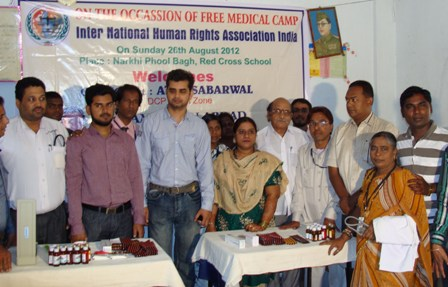 Free health check-up camp organised in Hyderabad by Human Rights Observers -1