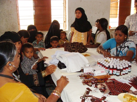 Free health check-up camp organised in Hyderabad by Human Rights Observers