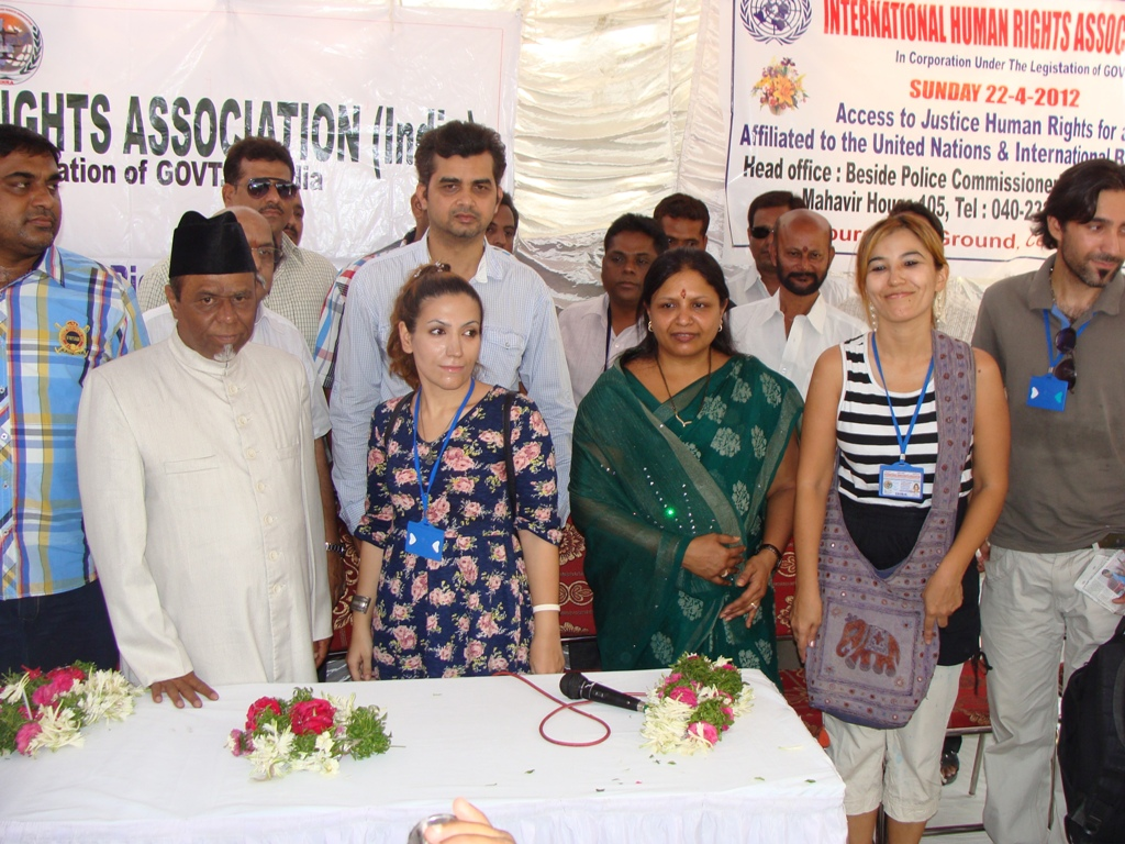 Health for all free medical camp by Human Rights Observers-Tameem-M-President