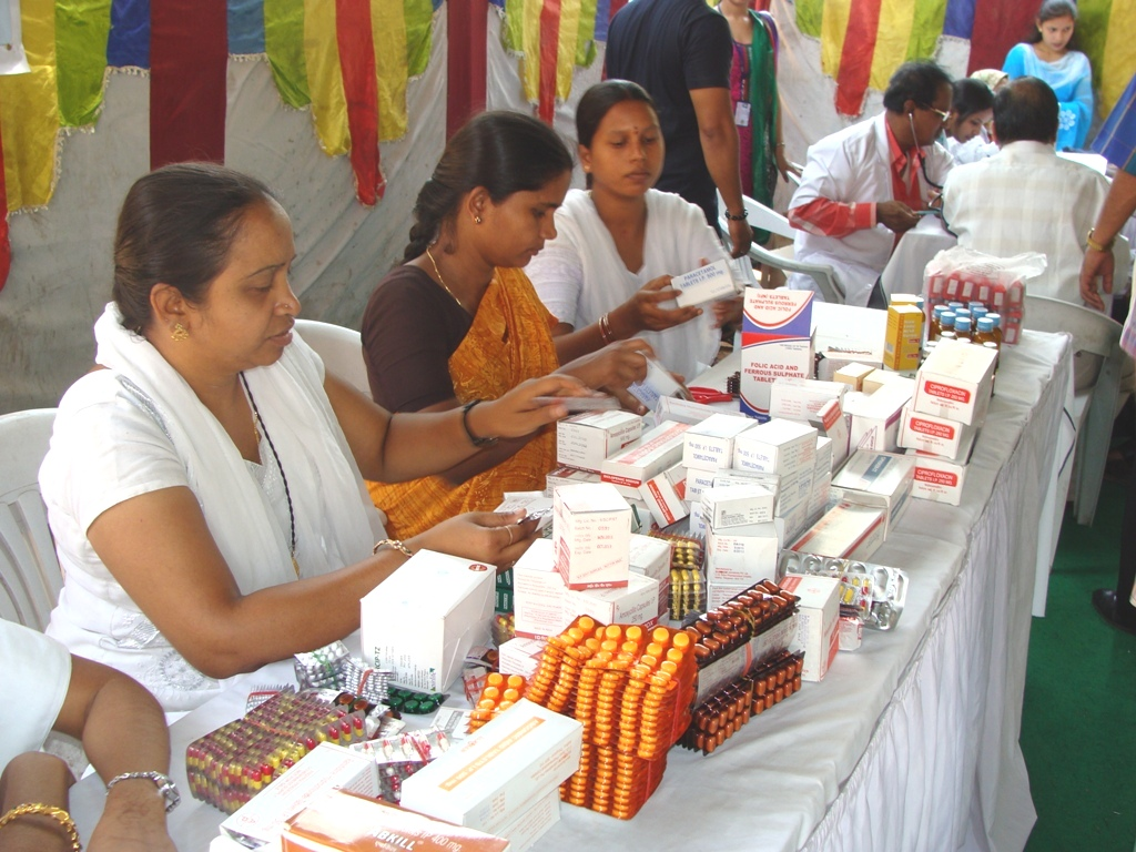 Health for all free medical camp by Human Rights Observers-Tameem-M-President1