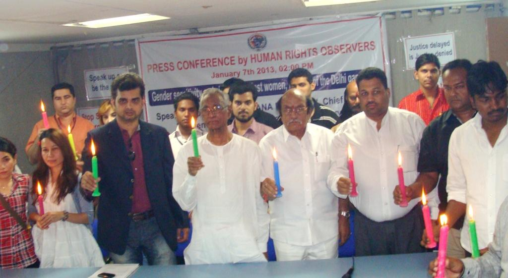 Human Rights Observers Chairman M Tameem Condemns Delhi gang-rape incident, calls for urgent reforms