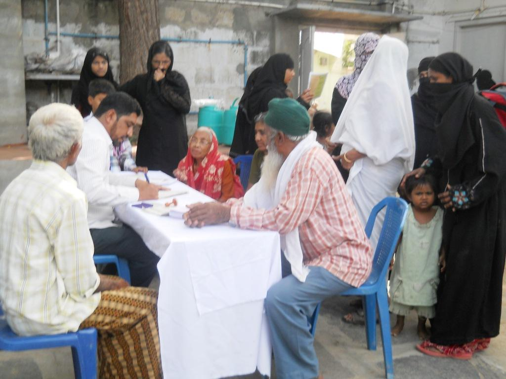 Human Rights Observers Free Mega Medical Camp in Rural areas