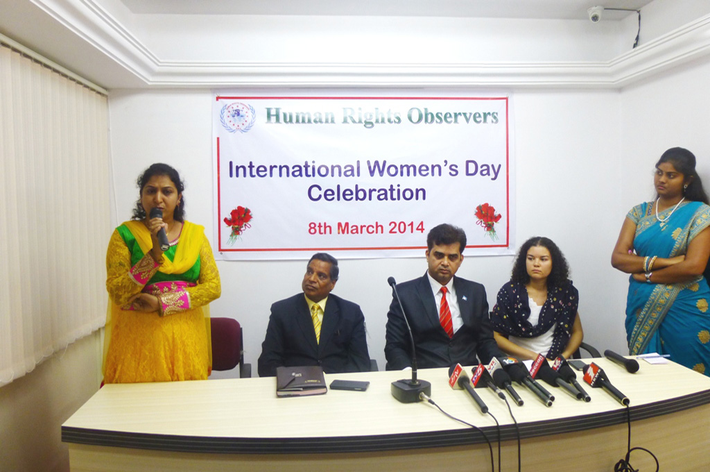 Speed up women empowerment, says Tameem, Chairman of Human Rights Observers 1