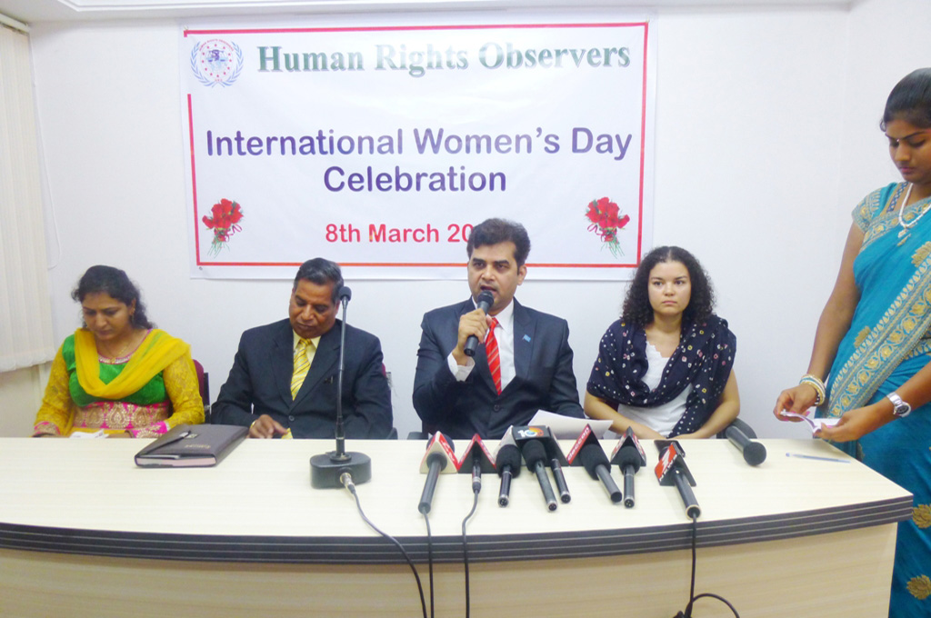 Speed up women empowerment, says Tameem, Chairman of Human Rights Observers