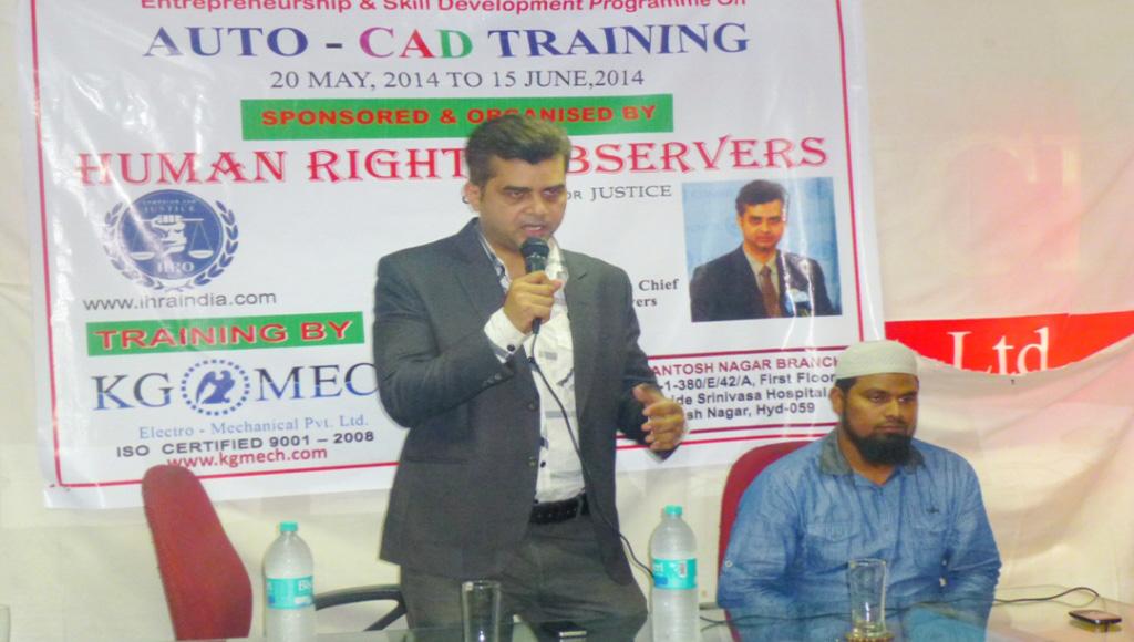 Tameem Inaugurates free auto CAD training centre in Hyderabad