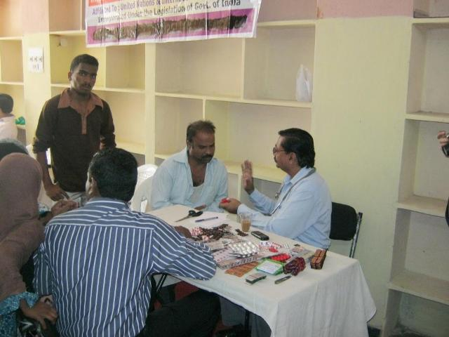 ihraindia medical camp-1