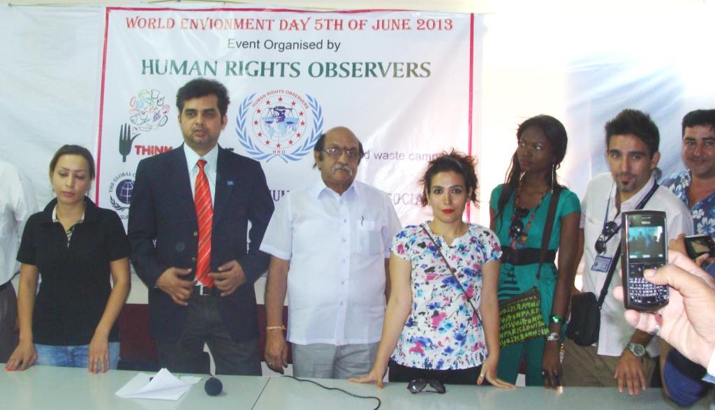 tameem-speech on envoronment day-11