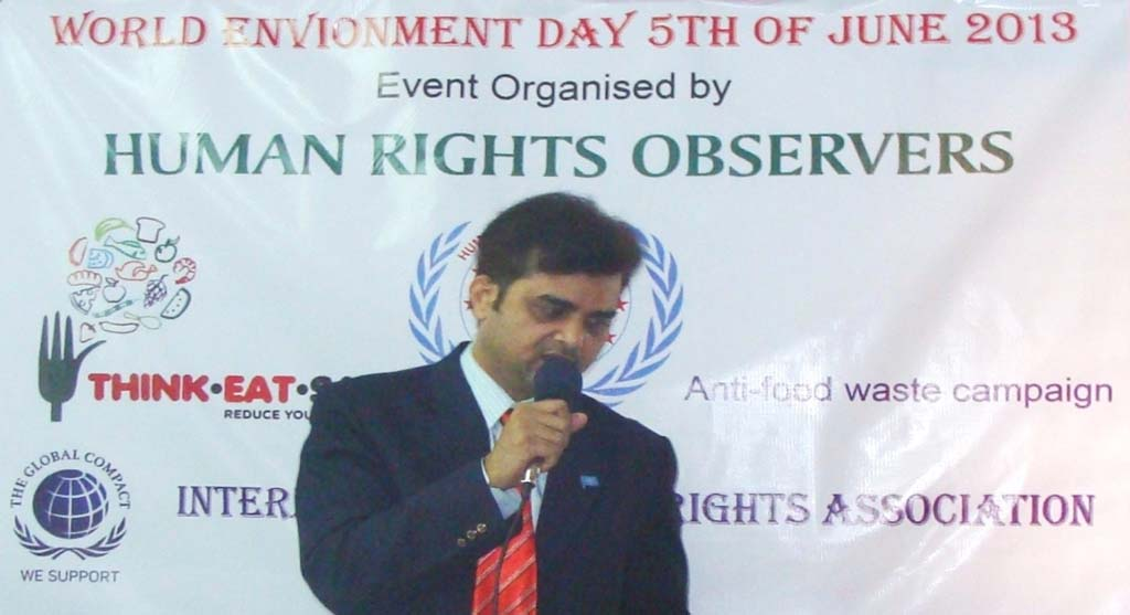 tameem-speech on envoronment day-1
