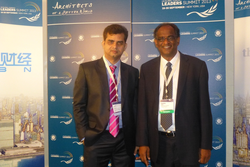 tameem at united nations global compact summit