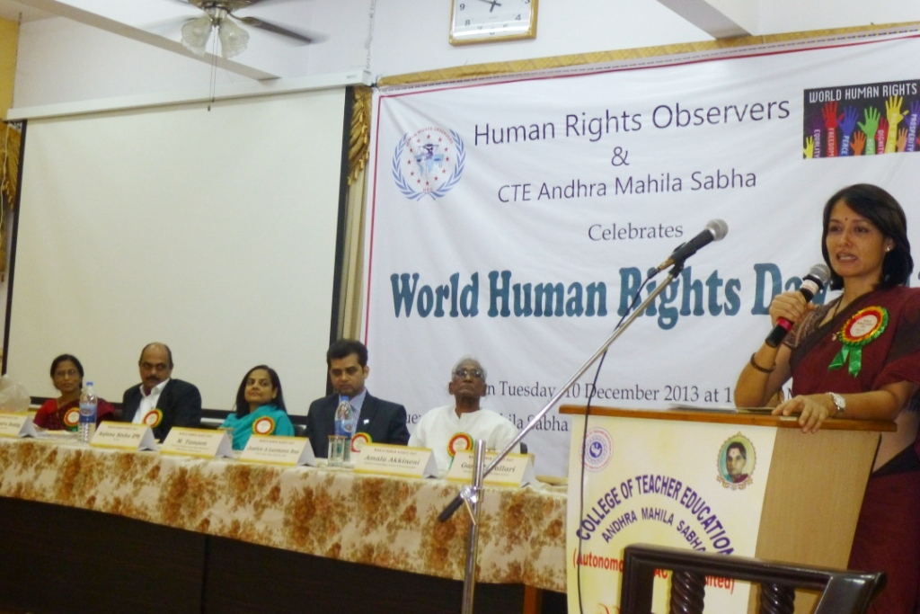 world human rights day 2013, ihraindia,amala akkineni, 5