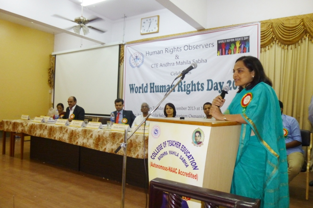 world human rights day 2013, ihraindia,anjana sinha ips,4